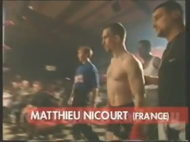 Mathieu Nicourt - Combat Freefight MMA - Night of the Samouraï III
